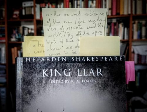 José María Pérez Fernández, How To Do Things with Paper in King Lear