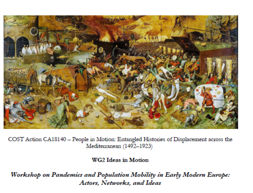 Pandemics and Population Mobility in Early Modern Europe: Actors, Networks, and Ideas, Tallinn University, 16 March 2021, Call for Papers