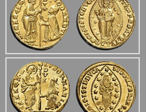 Giorgio Giacosa, Trade wars and counterfeiting in the Mediterranean: The zecchino of Venice and the imitations and counterfeits issued by the republic's rivals in a ruthless trade war.